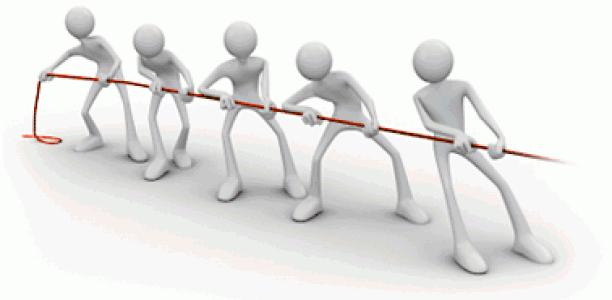 La structure d'une force de vente